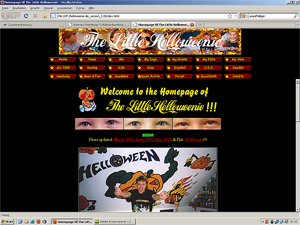 Little Helloweenie Homepage